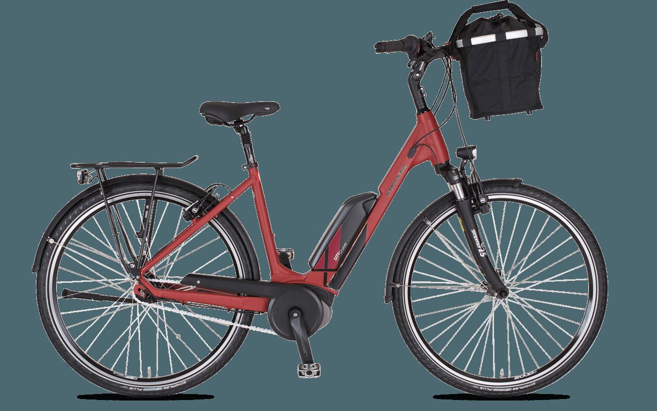Bild der Frau E-Bike Sondermodell