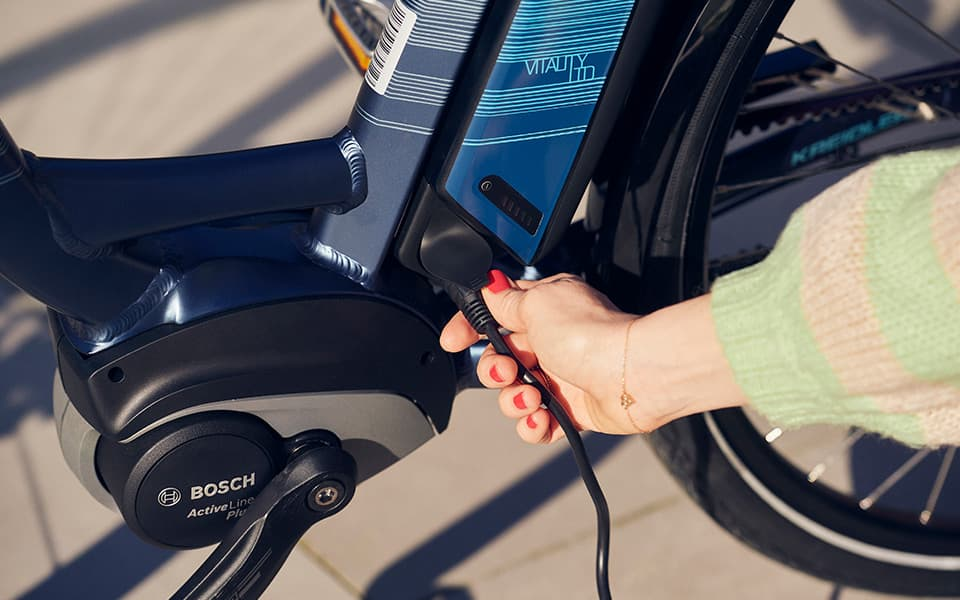 Bosch E-Bike Technik – Kreidler